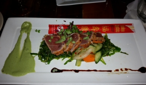 08.11.2015 21:13 | Casablanca Cafe | Seared Ahi Tuna