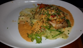 08.11.2015 21:13 | Casablanca Cafe | Blue Crab Crusted Mahi Mahi