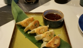 Food Republic | Pork Belly & Scallions Dumplings