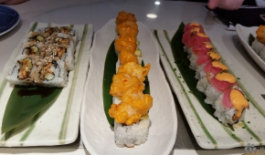 Food Republic | Eel Roll, Rock Shrimp Roll & Two Timing Tuna