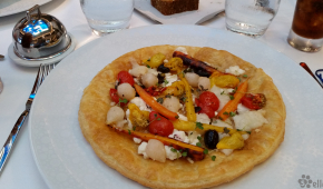 Haven Lunch | Goat Cheese Galette