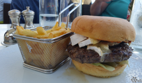 Haven Lunch | Brie Burger