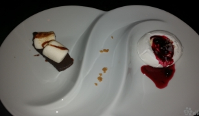Supper Club | Chocolate S'mores Bar & Pavlova with Cherries and Cream