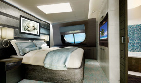 The Haven H7 Forward-Facing Penthouse with Balcony Bed