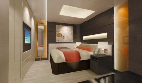 The Haven H4 2-Bedroom Family Villa with Balcony Bed