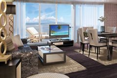 The Haven H2 Deluxe Owner's Suite with Large Balcony