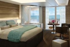 The Haven H8 Deluxe Spa Suite with Balcony Bedroom