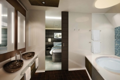 The Haven H7 Forward-Facing Penthouse with Balcony Bath