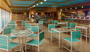 Jimmy Buffett's Margaritaville at Sea | © 2015 Norwegian Cruise Line