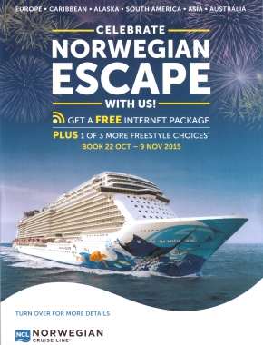 Norwegian Escape Flyer 1