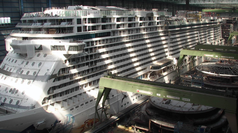 Meyerwerft WebCam Archive